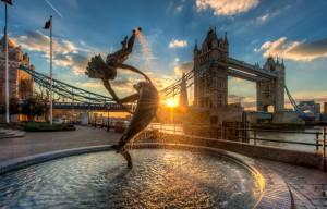 Осмотр достопримечательностей центра Лондона