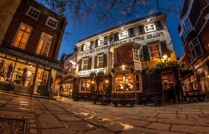 экскурсия по лондонским пабам и деловому району Сити