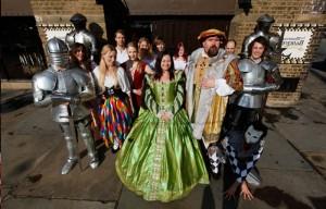 ужин с театрализованным представлением времен Генриха VIII