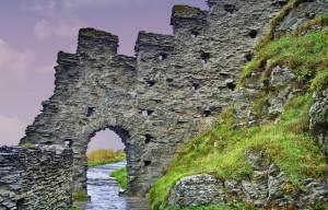 Замок Тинтаджел, Корнуол