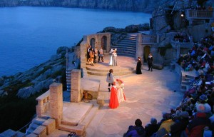 Театр Минак, Корнуол