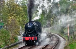 """Железная дорога """" Китли и долина Ворт"""", Западный Йоркшир"""