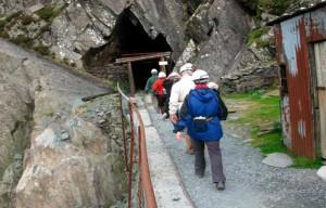 Сланцевая шахта в Хонистере, Камбрия